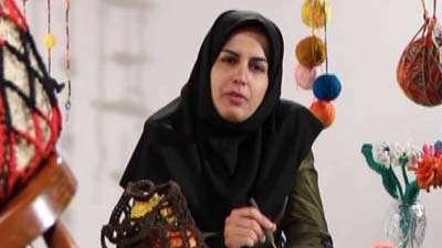 بافت با نخ روزنامه ای (2) ـ پور کرمان