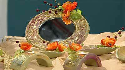 رنگ آمیزی ظروف سفالی برای هفت سین