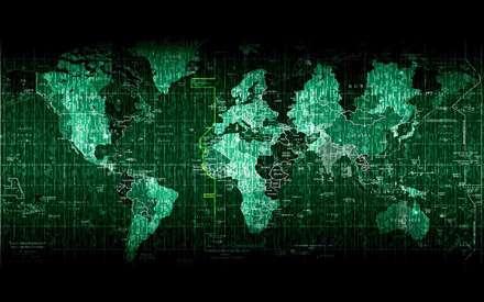 نقشه دیجیتالی جهان