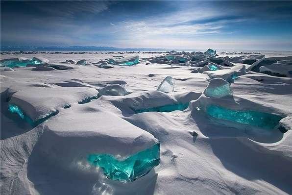 نقاشی طبیعت در سرما