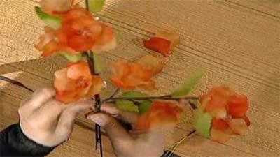 گل رز کریستالی