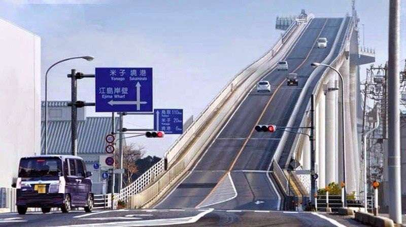 پرشیب ترین پل دنیا