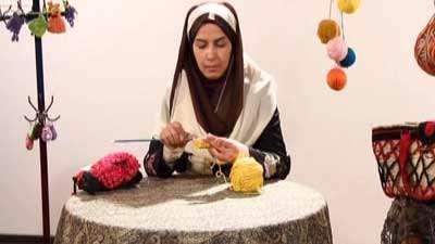 بافت قلاب تونسی (2) ـ خانم پورکرمان