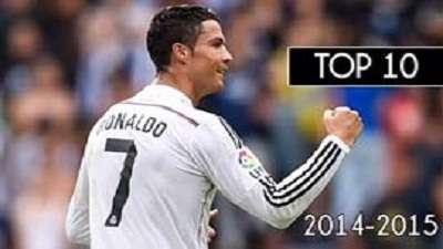 10 گل برتر رونالدو در فصل 2014- 2015