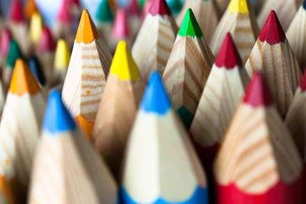 مدادهای رنگی