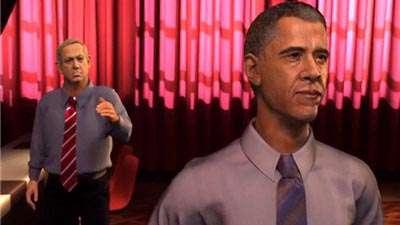 انیمیشن « زیر زمین کاخ سفید » _ 1
