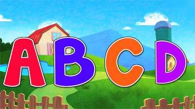 آموزش حروف انگلیسی کودکان / 2