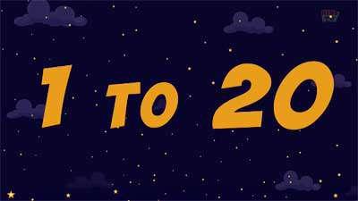 آموزش اعداد انگلیسی / اعداد 1 تا 20