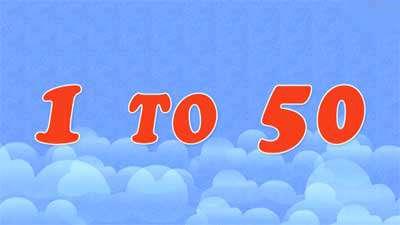 آموزش اعداد انگلیسی / اعداد 1 تا 50