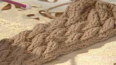 کاموا بافی سفید برفی Thread آموزش بافت و پترن اشارپ شنل و پانچ