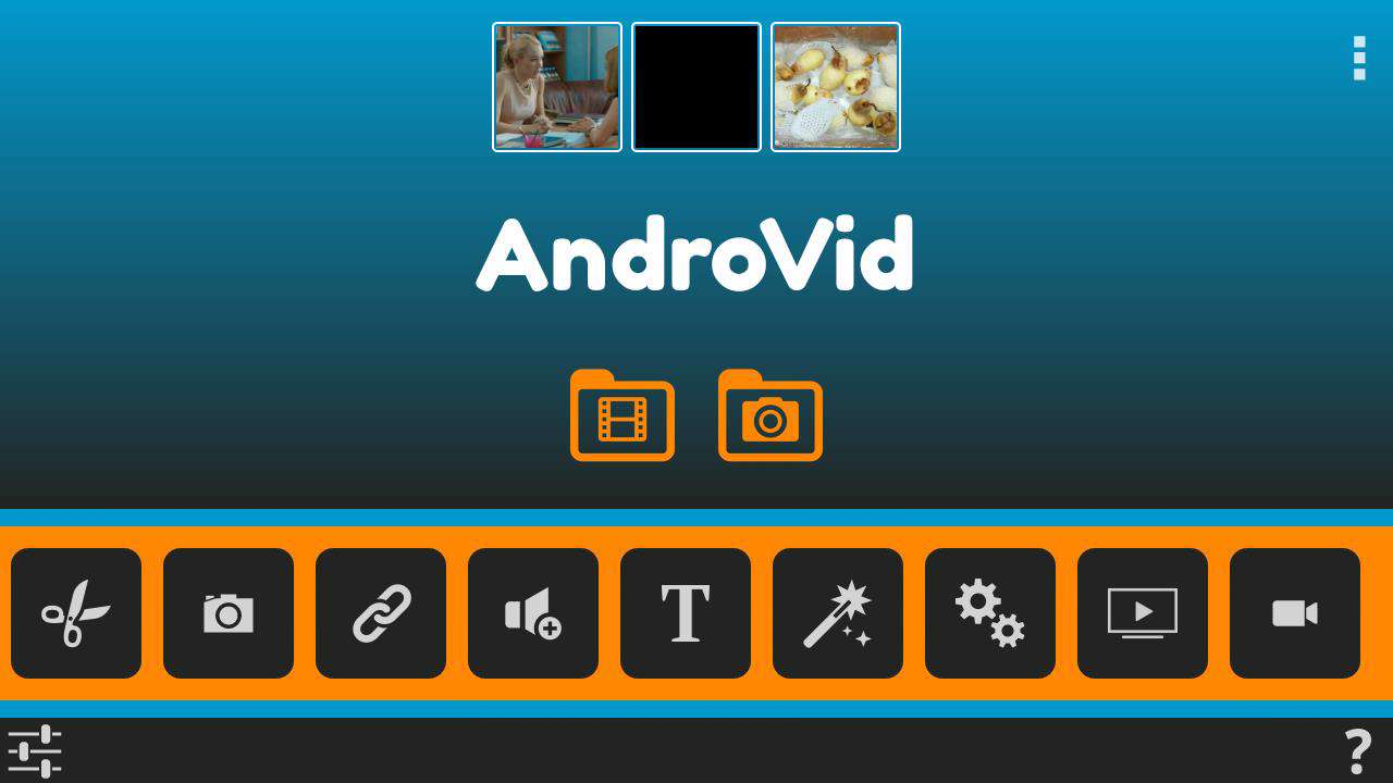AndroVid Pro Video Editor 2.7.0 نرام افزار ویرایش فیلم در دستگاه های آندرویدی