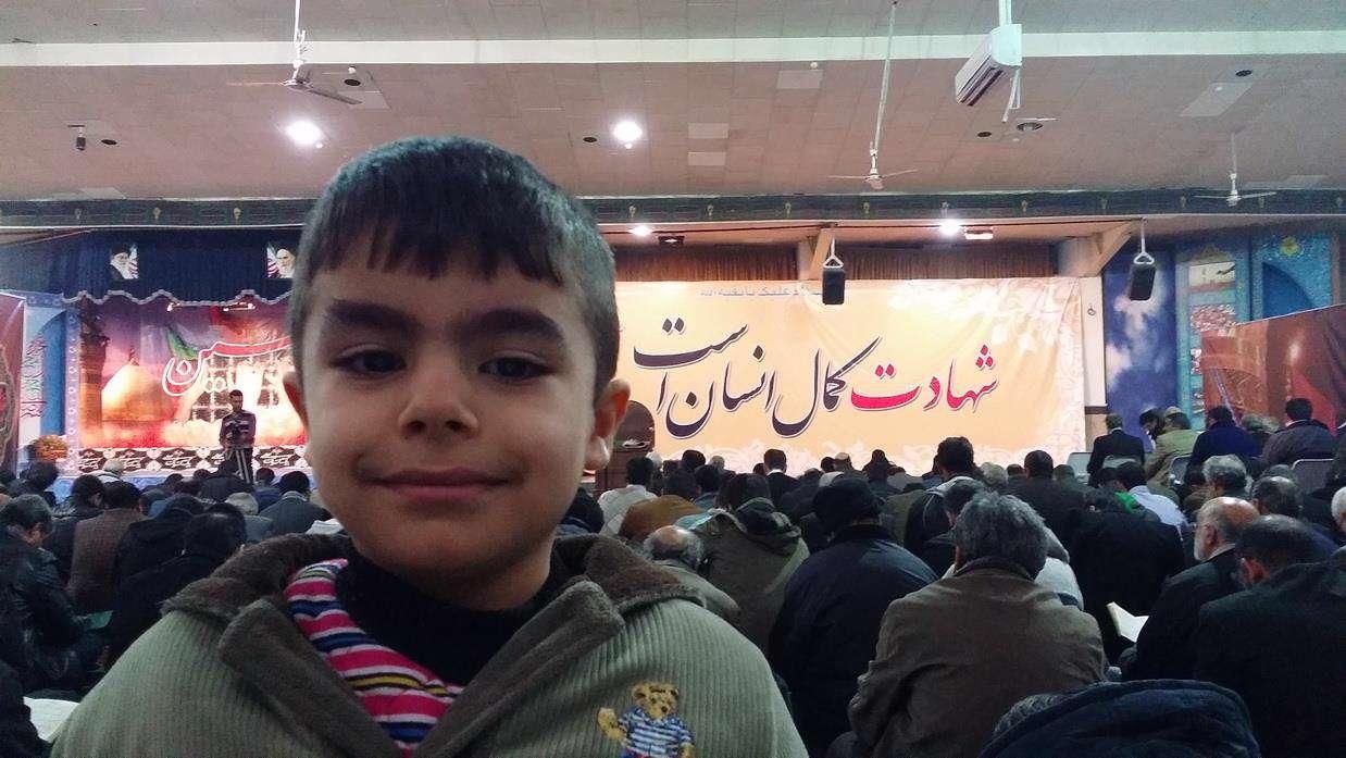 محمد ابراهیم سالن دعای ندبه بهشت الزهرا