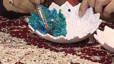 هفت سین نما کاشی