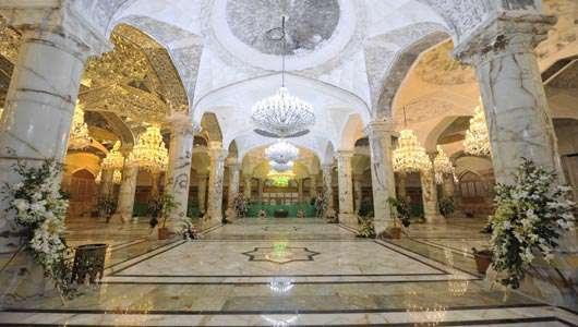 رونمایی از صحن و سرای حضرت زهرا(علیهاالسلام)