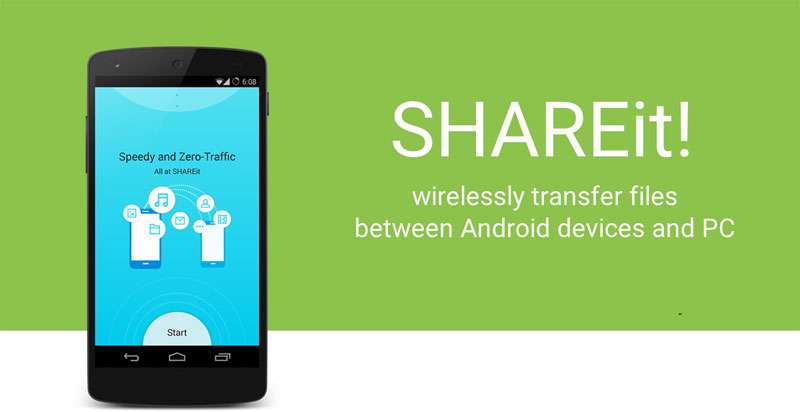 دانلود برنامه SHAREit 4.5.6 برای دستگاه های آندرویدی