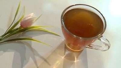 دمنوش چای سبز و نعنا