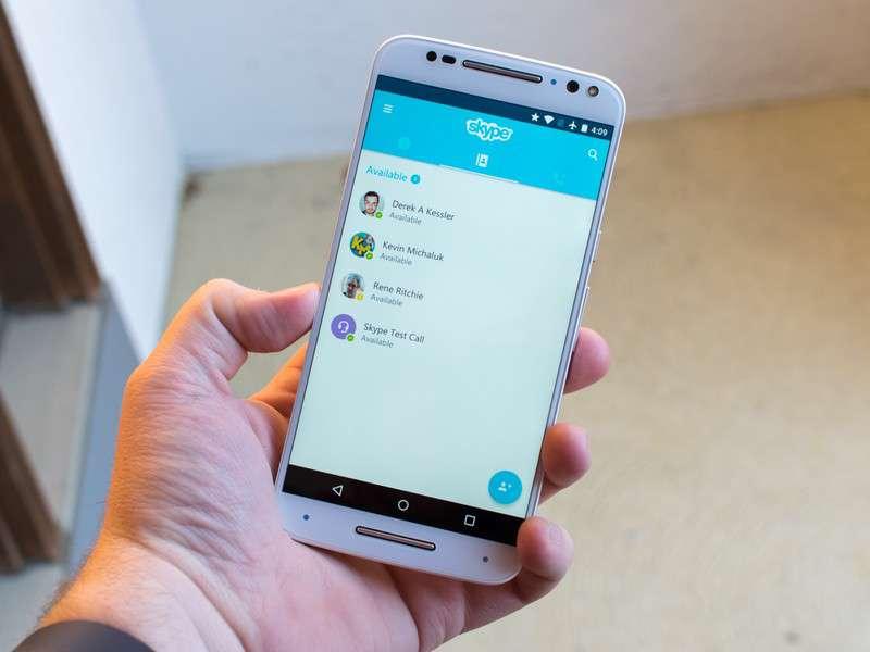 دانلود Skype free IM & video calls 8.16.0.5 ابزار مکالمه صوتی و تصویری