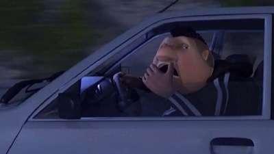 استراحت هنگام رانندگی