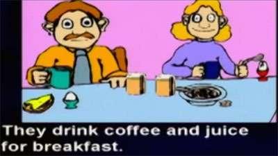 آموزش زبان انگلیسی / صبحانه