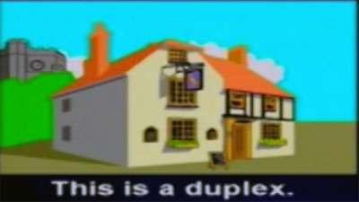 آموزش زبان انگلیسی / انواع خانه