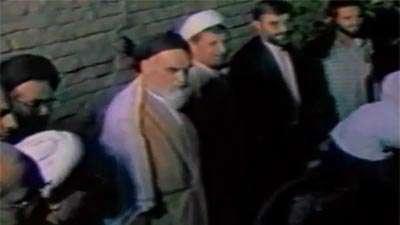 افطار امام خمینی (ره) با رهبر انقلاب