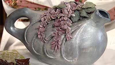 تزیین نما جواهر با گل اقاقیا