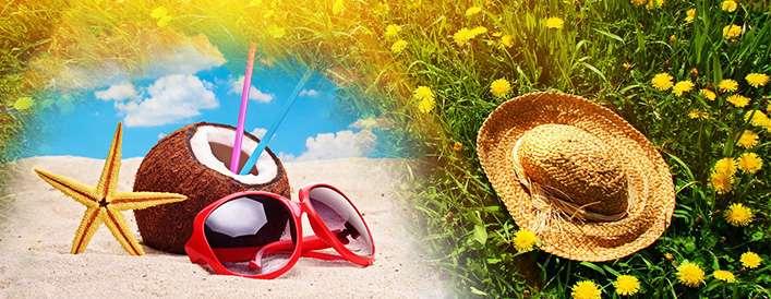 ده ترفند زیبایی تابستانی که عجیب اما مفیدند