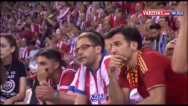 اشک های رونالدو پس از پیروزی در فینال لیگ قهرمانان