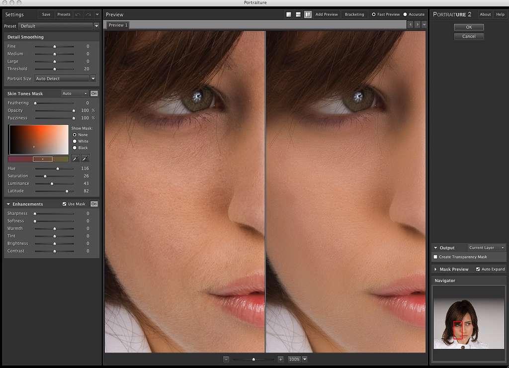 دانلود برنامه رتوش پوست SkinFiner 2.0