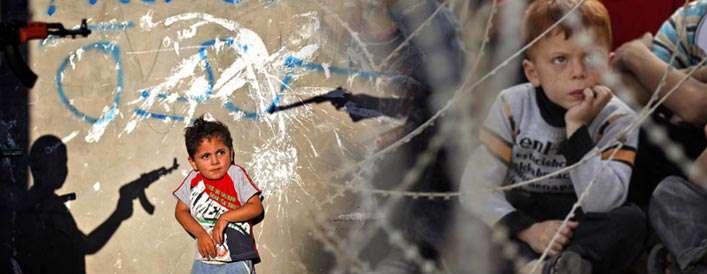 مستندی تکان دهنده درباره کودکان فلسطینی