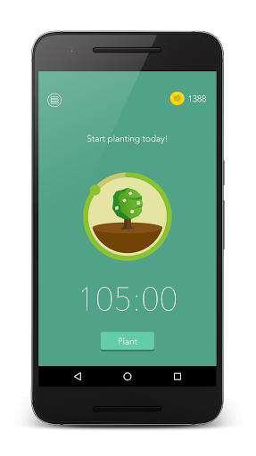دانلود برنامه حل مشکل اعتیاد به گوشی Forest 4.1.6 برای اندروید