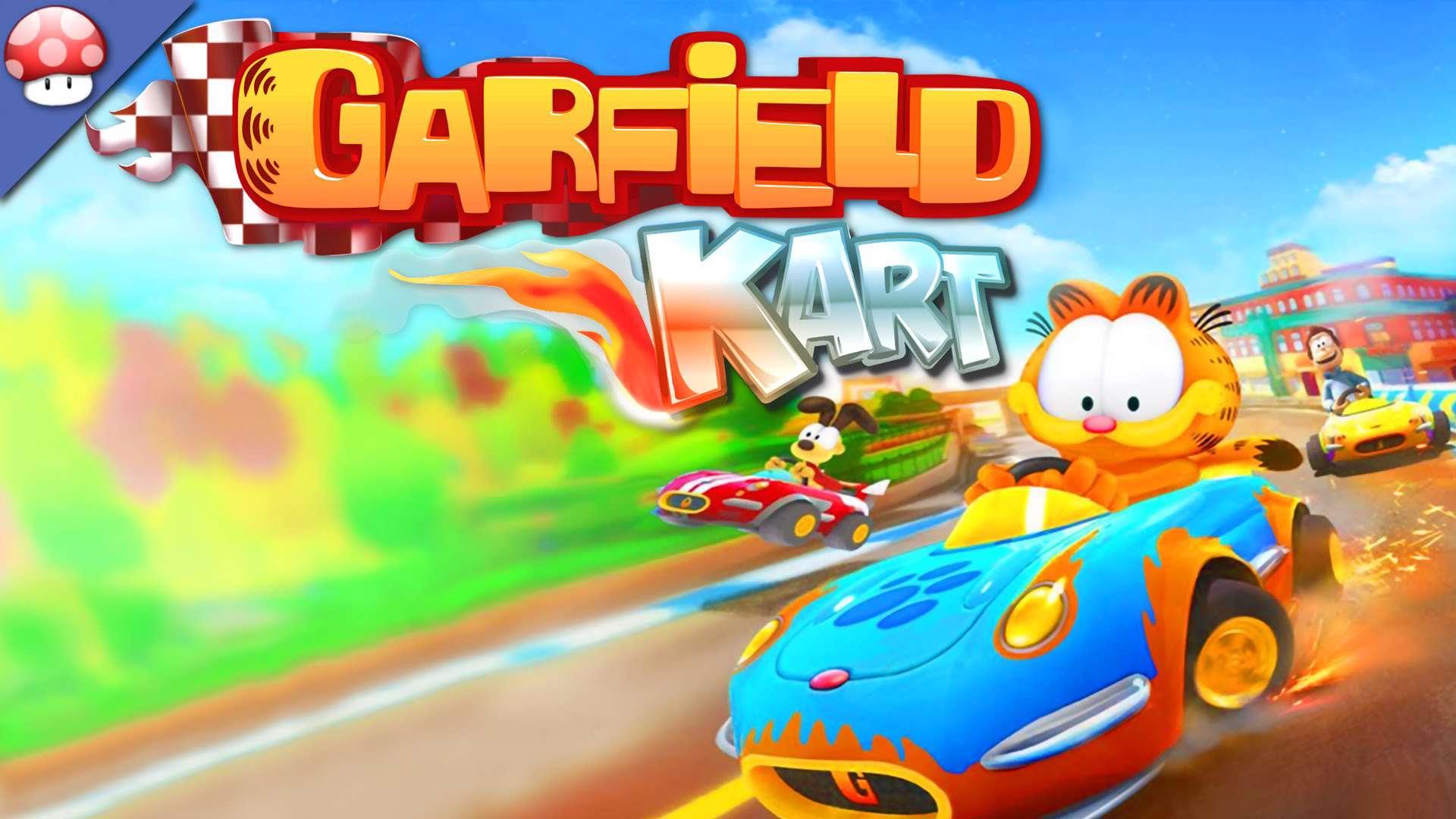 دانلود بازی رالی جذاب مخصوص کودکان Garfield Kart برای رایانه