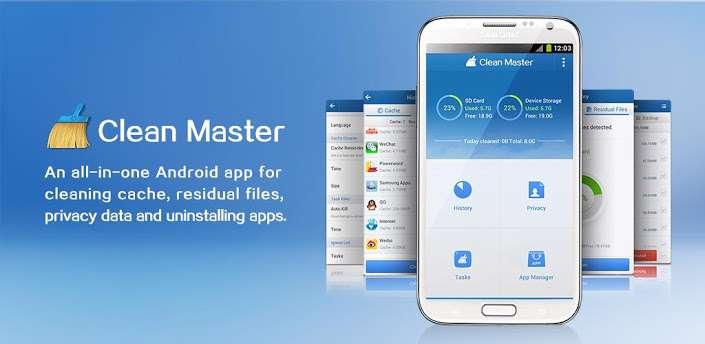دانلود برنامه بهینه سازی Clean Master 6.12.8 برای اندروید