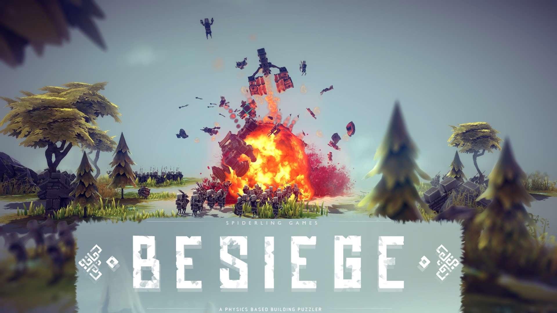 دانلود بازی Besiege 0.30 IGG برای رایانه ، در این بازی طراح ابزار نظامی شوید