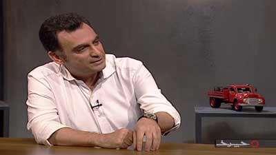علاقه ی هرمیداس اتابکی برای انتقال ایده هایش به ایران