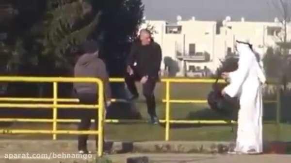 دوربین مخفی خنده داره یک داعشی