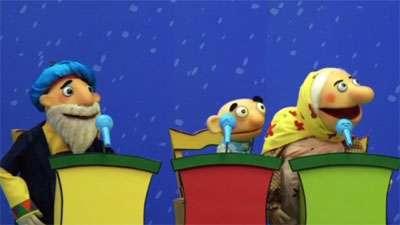 مسابقه خوانندگی در شکرستان عروسکی