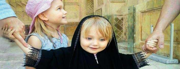 از 5 سالگی دخترتان را با حجاب آشنا کنید
