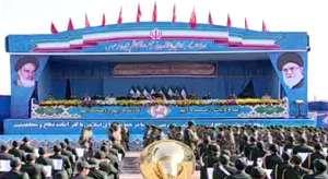 مراسم رژه نیروهای مسلح به مناسبت آغاز هفته دفاع مقدس