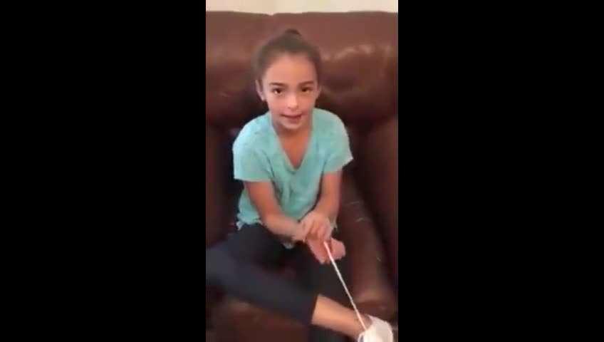 ویدئوی ترفند فرار دختر، 56 میلیون بازدید داشت