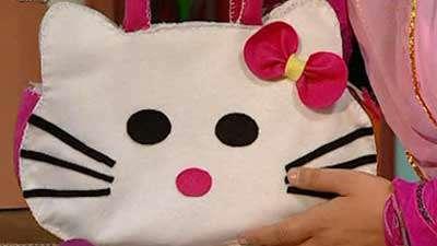 کیف دخترانه نمدی (1)