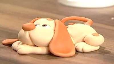 سگ کوچک خمیری