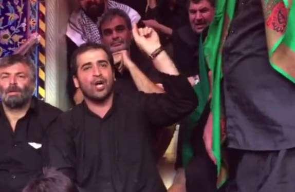 رجز خوانی حماسی شاعر معروف در وصف مدافعان حرم