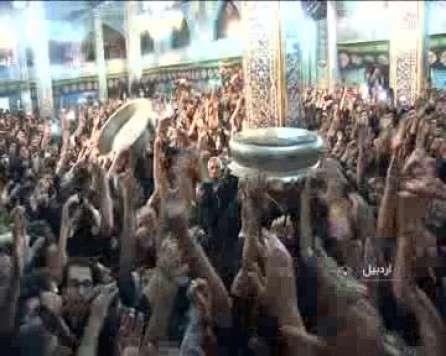 مراسم تشتگذاری در اردبیل