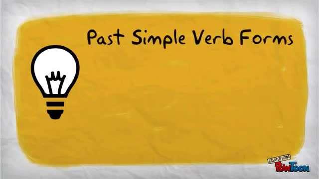 Grammar / ed - d   - افعال باقاعده
