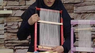 گلیم بافی (2) _ خانم خانی (آموزش به زبان آذری)