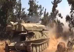 هدف قرار دادن مواضع تروریست های مرتبط با رژیم صهیونیستی در درعا