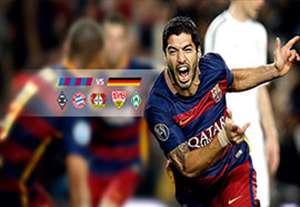 10 گل برتر تیم بارسلونا در برابر تیم های آلمانی