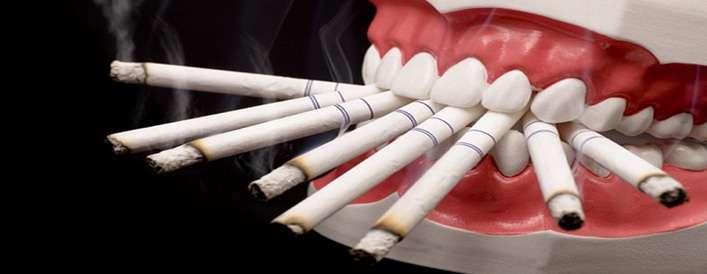 اثرات مخرب سیگار بر دهان