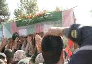 تشییع پیکر شهید مدافع حرم
